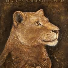 egypt lioness