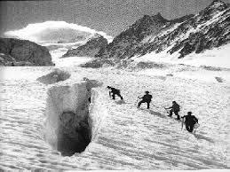 glacier crevasse