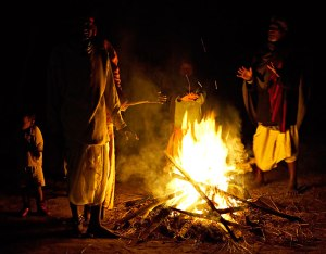 Nuwa bonfire