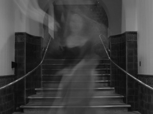 hween a ghost