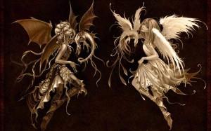 hween angel and demon 1