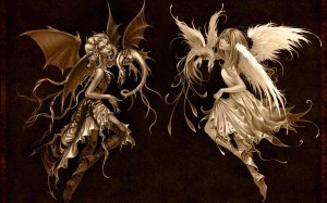 hween angel and demon 1