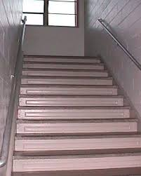 a high school stairs 1