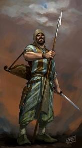 Etana warrior