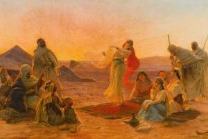 pep Bedou camp