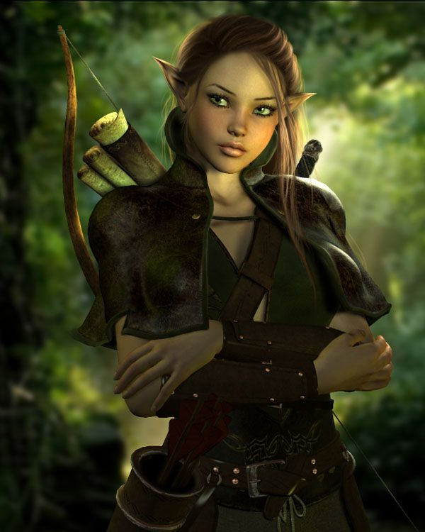 warrior elves Female
